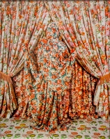 Flowery - from the series Anonymous Women: Draped - Patty Carroll